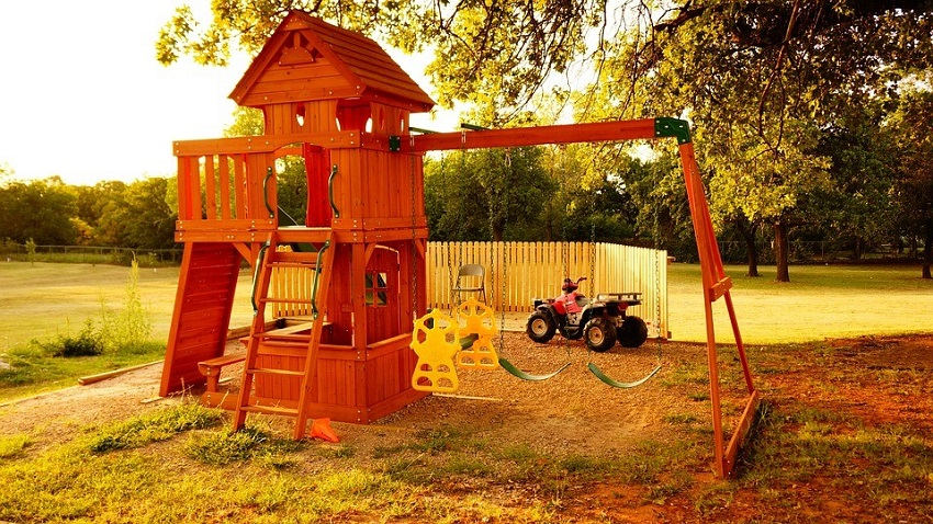 Outdoor Playhouse Furniture Accessories and Amenities